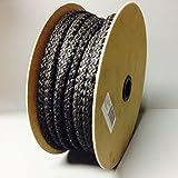 65' Spool 5/8'' Black Fiberglass Rope Gasket AW Perkins 157 Wood Stove Door Seal