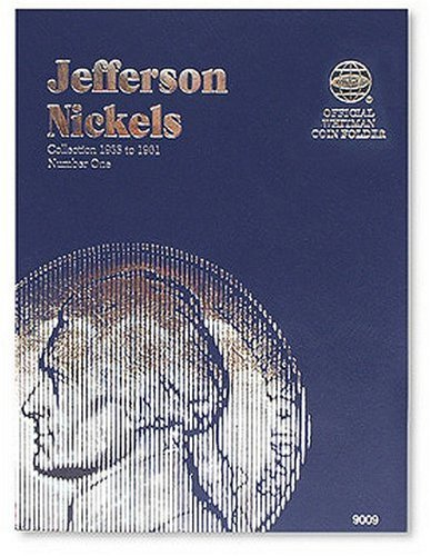 Whitman Folder - Jefferson Nickels Folder 1938-1961 (Official Whitman Coin Folder)
