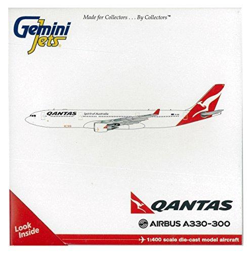 - Gemini Jets GJQFA1199 Qantas Airbus A330-300 VH-EBG 1:400 Diecast Model by Gemini Jets