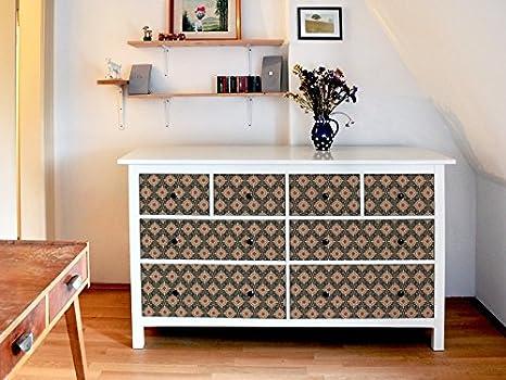 yourdea Muebles de pantalla para cómoda de Ikea hemnes 8 cajones/Muebles de pegatinas para diseñar Incluso/ - pegatinas adhesivas con diseño oriental ...