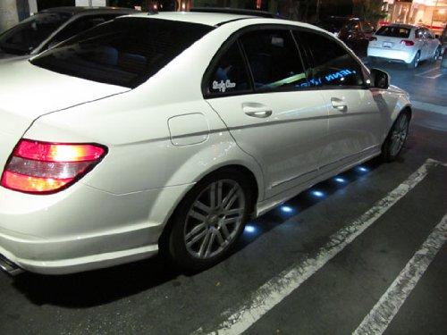 Ijdmtoy Mercedes Benz Brabus Style 90 Led Under Car Foot