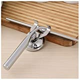 BESTOMZ Stainless Steel Window Cleaning Tools Glass Mirror Squeegee for Home