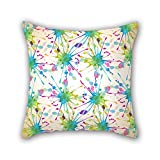 PILLO pillow covers of geometry 20 x 20 inches / 50 by 50 cm,best fit for wedding,bedding,girls,family,festival,kitchen double sides