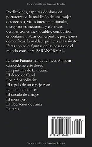 Paranormal: La liberación de Anna (Spanish Edition): Lamees Alhassar, Ana Hidalgo: 9781507178522: Amazon.com: Books