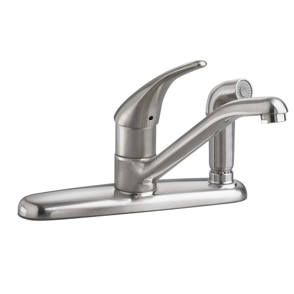 Amazon.com: American Standard 4175.503.002 Colony Soft Single Control Kitchen  Faucet With Escutcheon, Chrome: Home Improvement