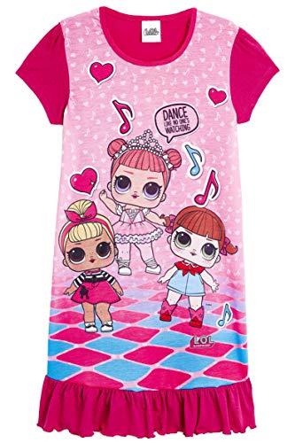 L.O.L Surprise ! Camisones de camisón o camisón de Confeti Pop Vestidos de camisón para niñas Lil Lencería escandalosa…