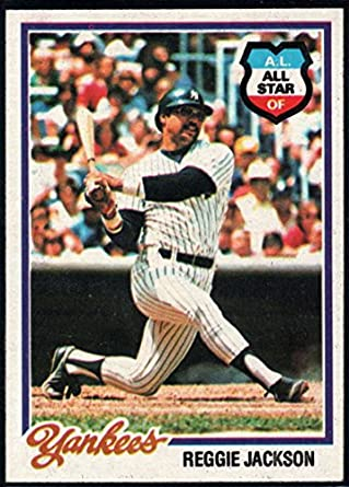 Amazoncom Baseball Mlb 1978 Topps 200 Reggie Jackson