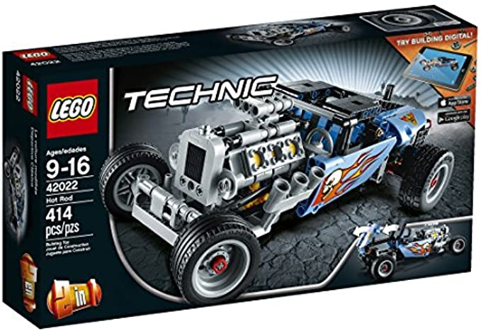 LEGO Technic 42022 Hot Rod Model Kit