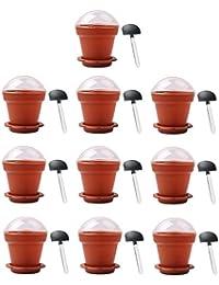 Buy 10 PCS Home Household Party Flower Pot Shape DIY Baking Jelly Cake Yogurt Mousse Storage Transparent Cup Holder... cheapest
