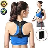 TENGFENGTE Posture Corrector, Posture Back Brace, Posture Back Shoulder Support for Women and Men, Adjustable, Effective and Comfortable