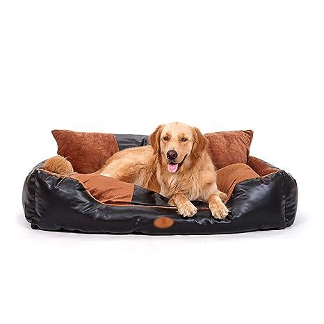 Sofá Estilo Cama para Mascotas, Cama ortopédica para Perros y Gatos, extraíble y Lavable