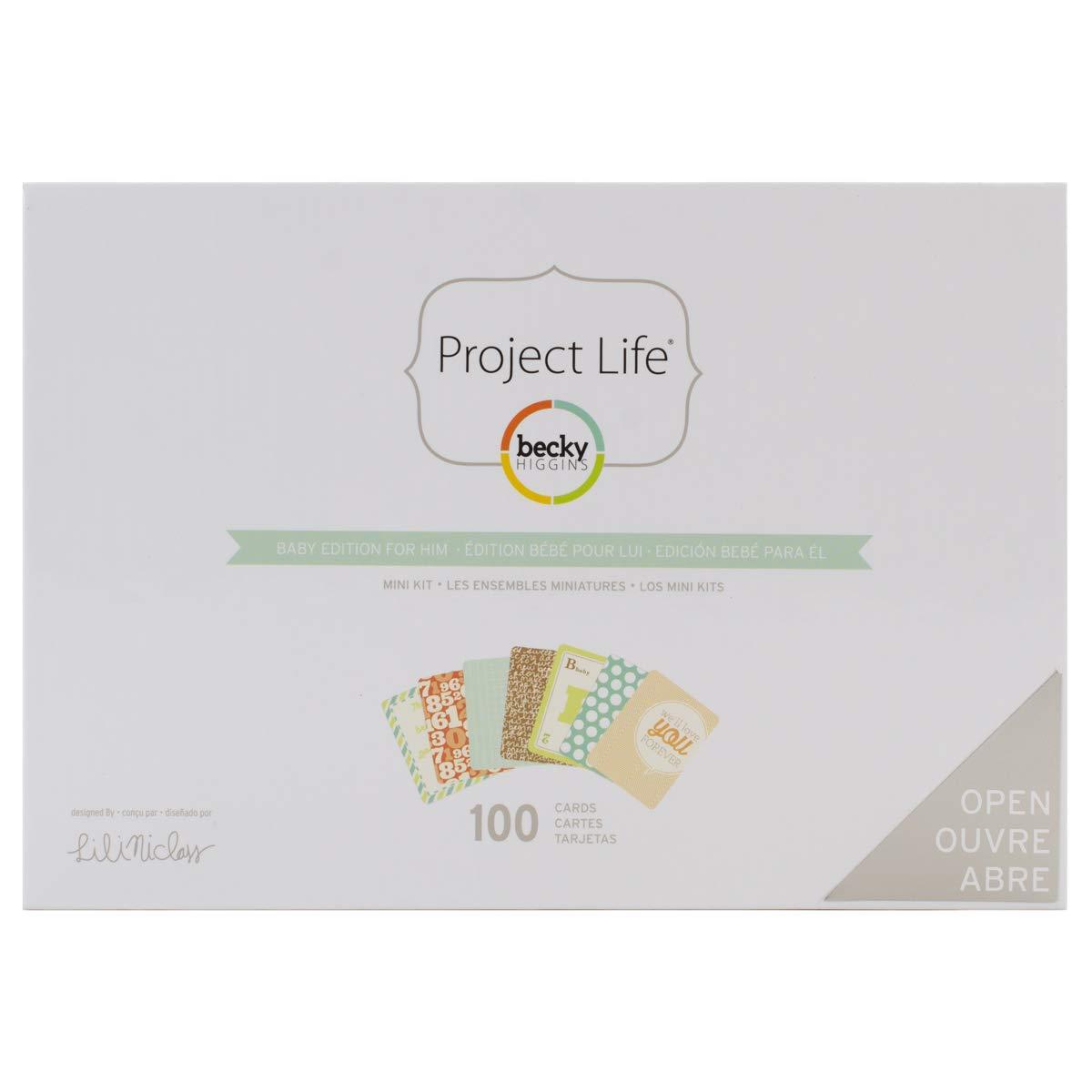 American Crafts Project Life Mini Kit, 3.17 x 18.41 x 12.7 cm 3.17x 18.41x 12.7cm 380042