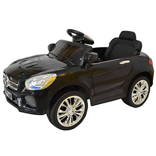 Find Bargain Costzon Black 6V Kids Ride On Car RC Remote Control Battery Powered w/ LED Lights MP3