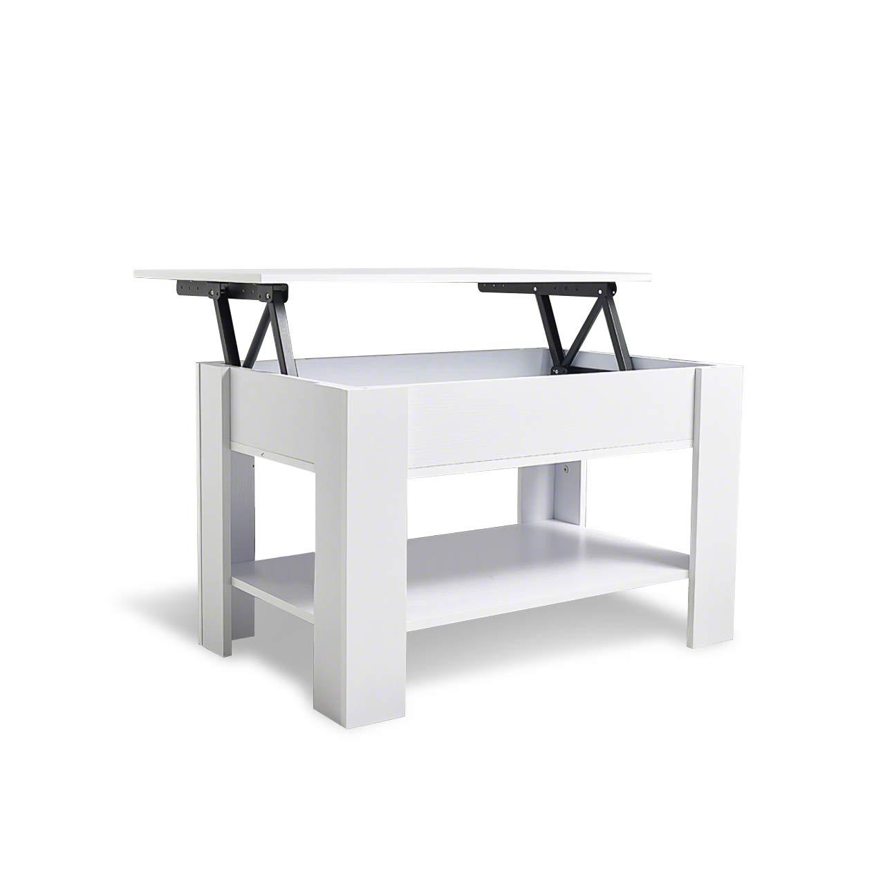 Laura James - Tavolino da caffè con piano rialzabile e vano portaoggetti Walnut AGTC Ltd.