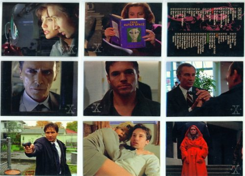 Used, Topps The X-Files Season 3 Trading Card Base Set for sale  Delivered anywhere in USA