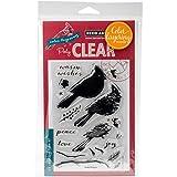 Hero Arts SB118 Cardinal Clear Stamp & Die Combo-Cardinal