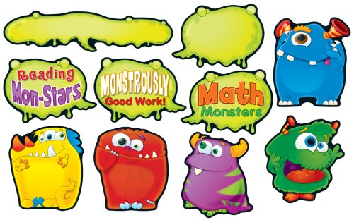 Carson Dellosa Monster Talkers Bulletin Board Set (110189)