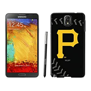 Popular Samsung Galaxy Note 3 Case ,Unique And Lovely Designed With Pittsburgh Pirates Black Samsung Galaxy Note 3 High Quality Cover