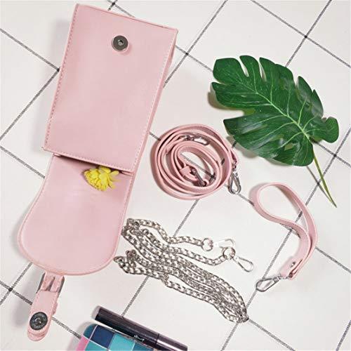 Hf Cuero Rosa Bandolera Moda Bolso Chica Morning Bolsos Bolsas Hombro Mano Crossbody Pequeño Shopper Casual De Elegantes Impermeables Handbag rwrqnOU4