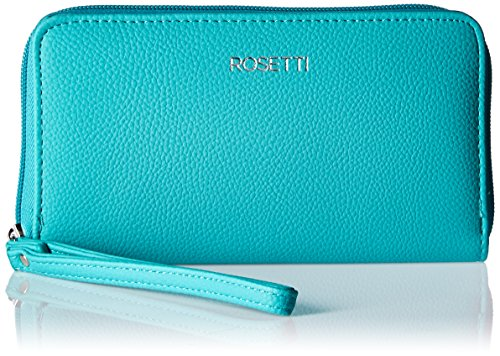 Rosetti Joslyn Zip Around Wristlet Wallet with Rfid Blocking Technology