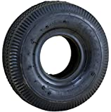 "Marathon 4.10/3.50-4"" Replacement Pneumatic Wheel Tire and Tube"