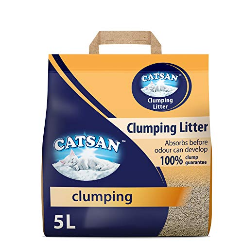 Catsan Hygiene Cat Litter for Cats and Kittens, 1 Bag...