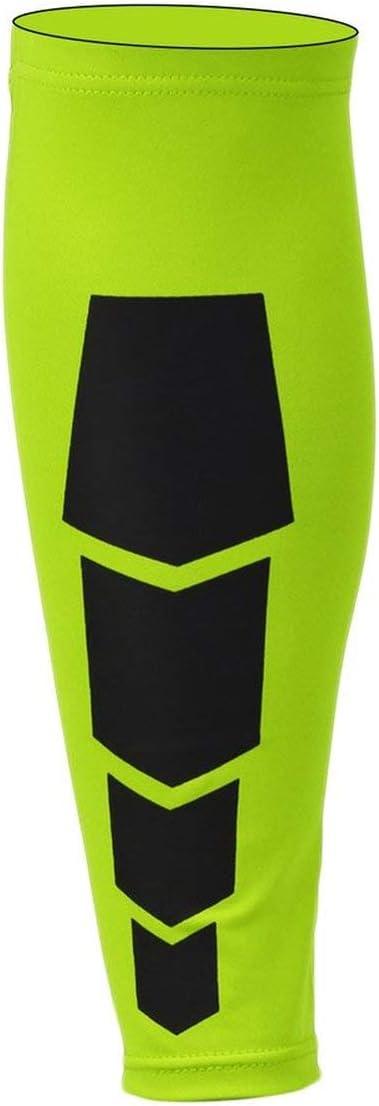 Taille: M M HONGIGI Jambe Sportive Jambe Mollet Support Brace Sleeve Exerciseur de Compression Prot/ège-Jambe envelopp/é Unisexe pour Les Sports de Plein air Couleur: Noir