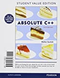 Absolute C++, Student Value Edition, Savitch, Walter and Mock, Kenrick, 0132846810