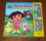 img - for Dora's Farm Adventure (English and Spanish Edition) book / textbook / text book