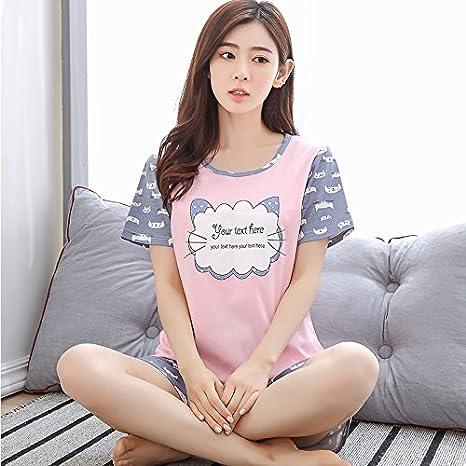 Amazon.com: Blue Stones Spring Pyjamas Women Carton Cute Pijama Pattern Pajamas Set Thin Pijama Mujer Sleepwear pajama: Kitchen & Dining