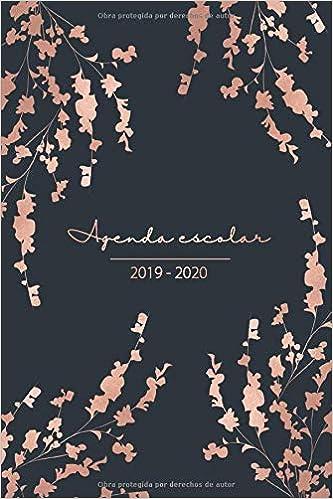 Agenda Escolar 2019 2020: Agenda 2019 2020 de Estudios ...