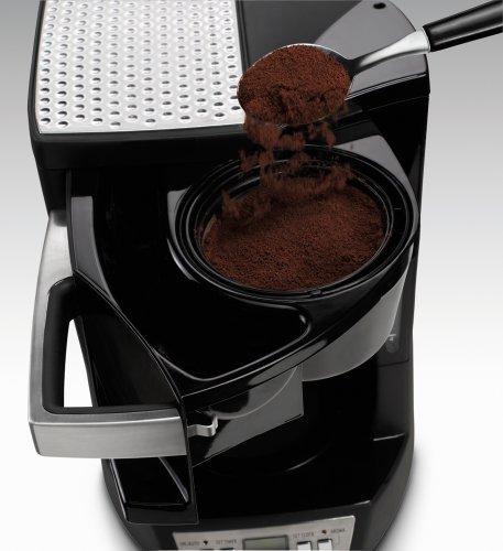 DeLonghi DCF212T Drip Coffeemaker with Convenient Front Access Appliances Store