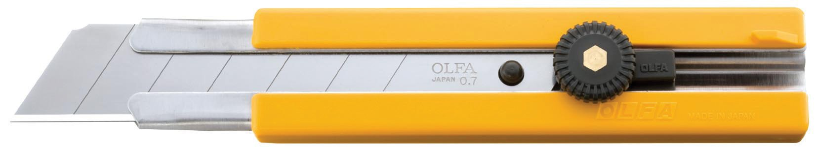 OLFA 5006 H-1 25mm Rubber Inset Grip EHD Utility Knife by OLFA