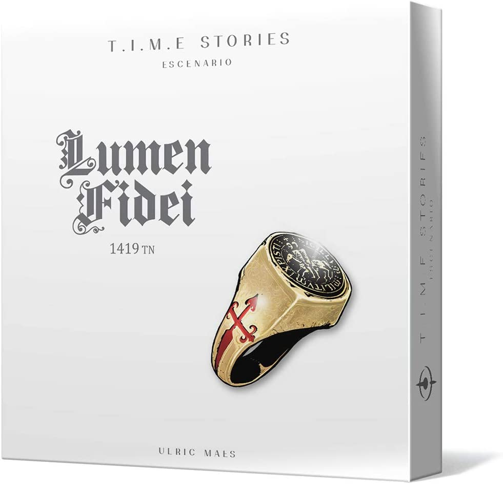 Space Cowboys- T.I.M.E. Stories: Lumen Fidei (Asmodee SCTS06ES): Amazon.es: Juguetes y juegos