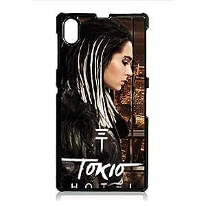 Tokio Hotel Phone Case Rock & Roll Tokio Hotel Sony Xperia Z1 Phone Cover Snap On Black Phone Case Band Rock & Roll Tokio Hotel Phone Case 244