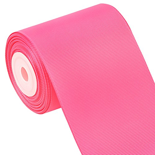 Laribbons 3 Inch Wide Solid Color Grosgrain Ribbon - 10 Yard/Spool (156 Hot -