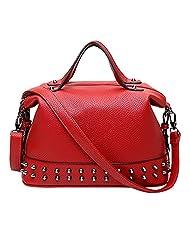 JINying 2016 New Style Women Single Shoulder Bag Leather Handle Tote Handbag