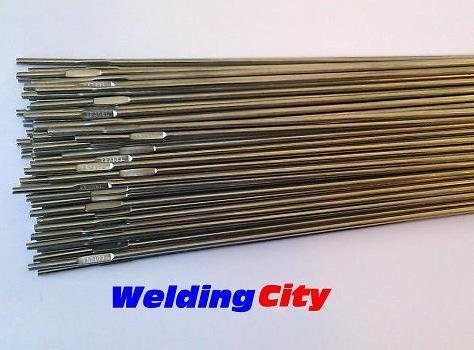 "WeldingCity 1# ER308L Stainless Steel TIG Welding Rods 1-Lb 1/16""x36"""