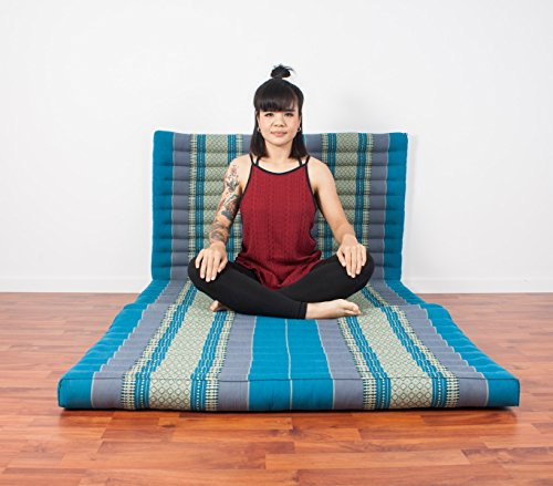 Leewadee Thai Massage Mat Xl 82x46x3 Inches Kapok Light
