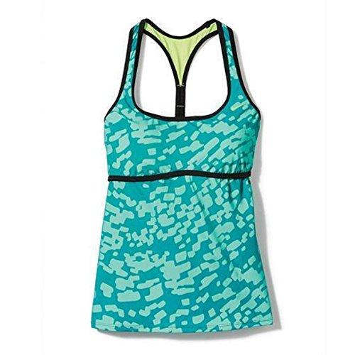 Nike Women's Swimsuit Drifter Racerback Tankini Top Swimwear (Small, Green) (Nike Swim Bra)