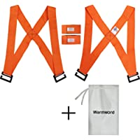 warmword 4pieces Furniture Lifting Straps, Furniture Moving and