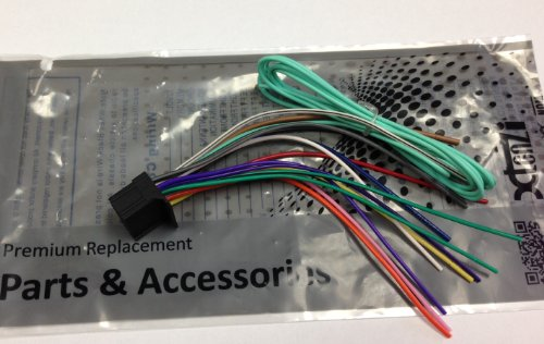 51n6 cwQEqL amazon com xtenzi pioneer power cord harness speaker plug for dvd pioneer avh p3300bt wiring harness color code at gsmportal.co