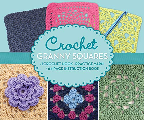 Crochet Granny Squares Boxed Kit