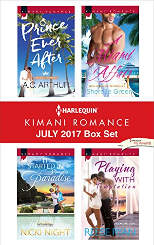 Search : Harlequin Kimani Romance July 2017 Box Set: Prince Ever After\It Started in Paradise\A Miami Affair\Playing with Temptation