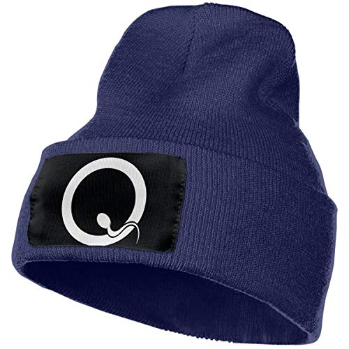 SmallHan Mens & Womens Queens Of The Stone Age Skull Beanie Hats Winter Knitted Caps Soft Warm Ski Hat Navy