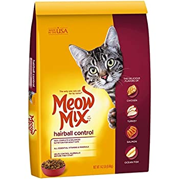 Meow Mix Hairball Control Dry Cat Food  Lb Bag