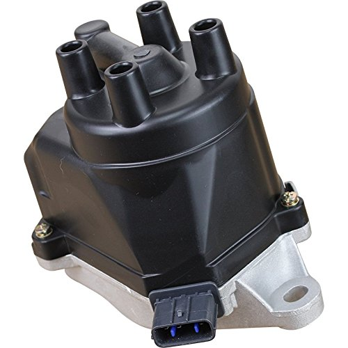 AIP Electronics Heavy Duty Stock Series Complete Electronic Ignition Distributor Compatible Replacement For 1998-2001 Isuzu Acura and Honda 2.3L 2.4L 30100-PAA-A02 Oem Fit D4T9607-SS