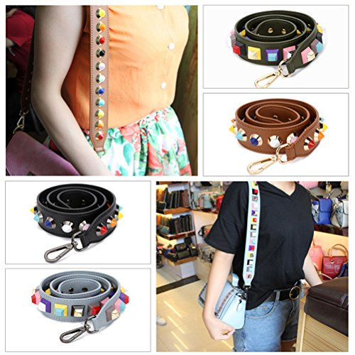 Bolsa Desmontables Del Ajustable de Cinturón Correa Hombro Bolso Universal Mujeres Recambio 90cm De Hombro Cinturón Accesorios marrón Umily Para 6YHSq