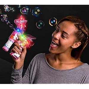 blinkee LED Light Up Unicorn Bubble Gun
