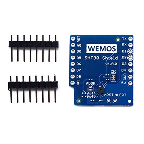 Mini SHT30 I2C Digital Temperature Humidity Sensor Module for WeMos D1
